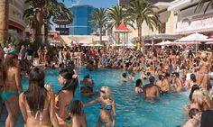 DJ Kaskade performs at Wynn Encore Beach Club