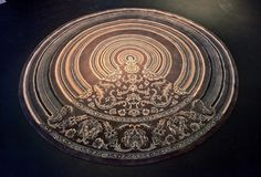 """""""Playing with Tradition,"""" a recent carpet by Richard Hutten"""