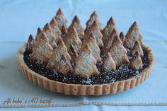 crostata di alberelli al cioccolato e cannella | Ali babà e i 40 biscotti