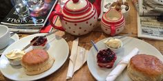 Make sure you try a #Cornish #creamtea at Charlie's #Coffee House! :-) Eden Lodge Bed & Breakfast, St Austell, Cornwall, UK, England.  #StAustell #Travel