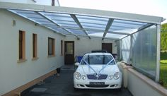 another great carport idea, could possibly be used for a greenhouse