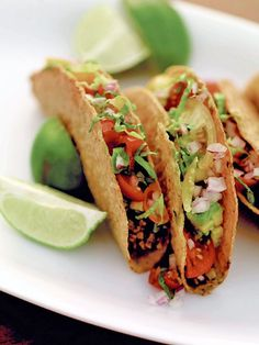 Sweet and spicy tacos from Leite's Culinaria by Lulu Powers