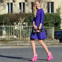 In Dior: http://www.theblondesalad.com/2012/05/in-dior-shot-by-tommy-ton.html #chiaraferragni #theblondesalad - @chiaraferragni- #webstagram