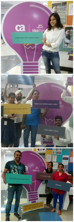 Great ideas are everywhere, but it takes a special mind to recognize the potential of an idea and to implement it. We're proud to say that CA is full of such talented minds and that's why we are celebrating #Ideathon2015 - an event that seeks to spark ideas that will help CA make business impact. #LifeAtCA #India #Innovation #Ideas