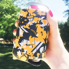 Our popular Lambouflage koozies are great for a Sunday afternoon tailgate... or in your cubicle at work the next morning.