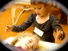Reconnective Kids - Put Healing in the Hands of our Children. Little ones from Italy learning Reconnective Healing.