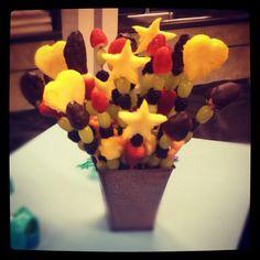 Homemade Edible Fruit Arrangement