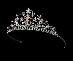 Sweet 16 Tiaras and Hair Jewelry... I love it! Because for this one birthday I WILL wear a crown. :)