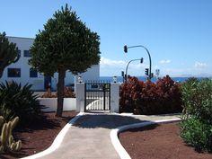 Path out of Las Casitas towards the marina.