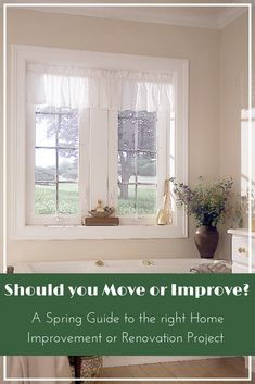 Should you move or improve? A Spring Guide to the right Home Improvement or Renovation Project Ventilation System, Vinyl Tiles, House Windows, Spring Home, Patio Doors, Exterior Doors, Simple House, Home Improvement Projects, Home Organization