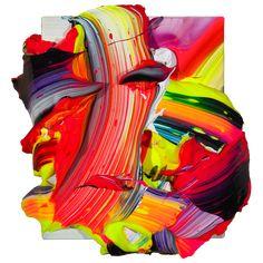 SP25. acrylic on linen. 32x29cm. 2012 - yago hortal