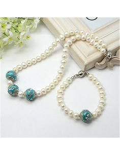 Freshwater Pearl Jewelry Sets