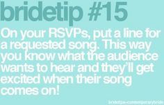 Reception Tip