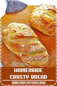 ★★★★★ - This Homemade Crusty Bread is easy enough for a novice to make and so delicious that family and guests alike will be impressed! Snacks Recipes, Bacon Recipes, Noodle Recipes, Recipes Dinner, Bread Recipes, Appetizer Recipes, Easy Recipes, Keto Recipes, Healthy Snacks