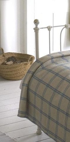 Rejuvenation Urban Farmhouse: its getting to be wool blanket time...