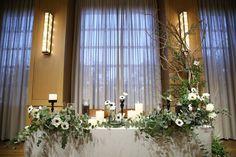 IMAGE KEYWORD: 高砂 / ARCH DAYS|理想のパーティーアイディアがきっと見つかるARCH DAYS Space Wedding, Tent Wedding, Hotel Wedding, Green Wedding, Wedding Table, Wedding Venues, Wedding Ideas, Gothic Wedding, Glamorous Wedding