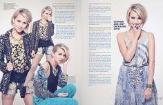Actress Chelsea Kane for Glamoholic Magazine
