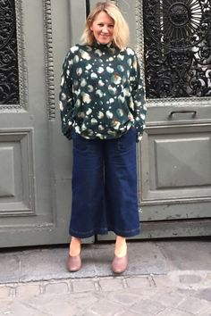 Editor Charlotte Moore At MFW SS17  Top - Eudon Choi Shoes - Cos Culottes - Whistles
