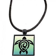 Honu Aumakua Pendant Sea Turtle Gifts, Pendant Necklace, Jewelry, Jewlery, Jewerly, Schmuck, Jewels, Jewelery, Drop Necklace