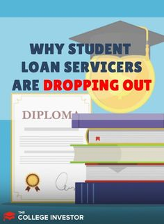 Student loan servicers like Fedloan and GSMR have dropped out. But why? And what does it mean for borrowers. Federal Student Loans, Student Loan Debt, Student Loan Forgiveness, Credit Bureaus, College Planning, Get Out Of Debt, Financial Literacy, Money Management