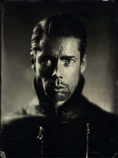 """Alex Timmermans Collodion Ambrotype wet plate Photography: Shoot at """"Studio Job"""""""