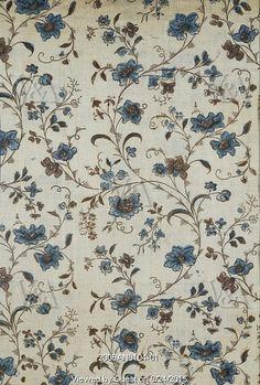 Textile design. England, late 18th century