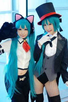 HatsuneMiku: Cat Girl & Magician Modules #vocaloid #cosplay 初音ミク 巡音ルカ 鏡音リン ボーカロイド ボカロ コスプレ