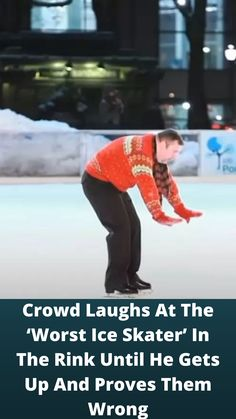 #Crowd Laughs At The 'Worst Ice #Skater' In The Rink Until He Gets Up And #Proves Them #Wrong