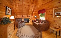 Secluded cabins in Pigeon Forge at http://www.encompassvacations.com