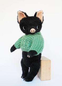 MINI POMME black pig