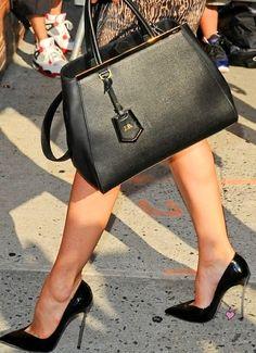 Fendi bag and Casadei shoes- LadyLuxury
