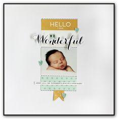 Mr. Wonderful by Jody Wenke - Scrapbook.com