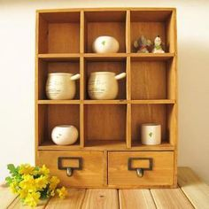 Do zakka old double wood 9 drawer storage cabinet-style three-tier storage boxes fragrant water tank