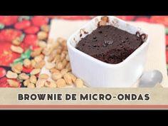Brownie de Micro-ondas | Receitas de Minuto - A Solução prática para o seu dia-a-dia!