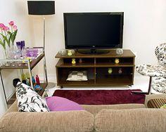 Sala pequena e bem decorada   Revista Casa Linda