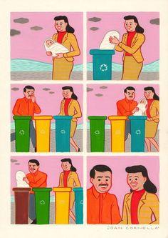 De ziekelijk grappige cartoons van Joan Cornellà
