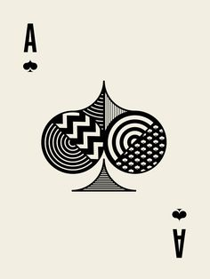 Cool Playing Cards, Joker Playing Card, Stencil Patterns, Pattern Art, Geometric Shapes Art, Shape Art, Design Graphique, Graphic Illustration, Illustrations