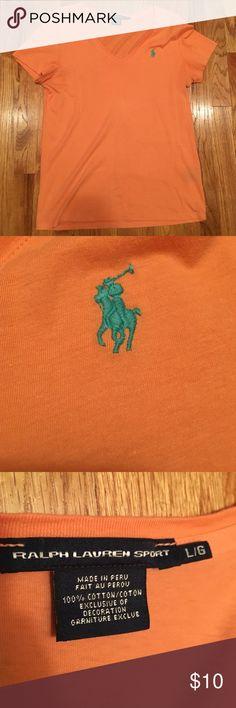 Ralph Lauren Polo tee shirt Been worn about 3 times and been dried Polo by Ralph Lauren Tops Tees - Short Sleeve