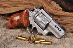"American Pistolsmiths Guild 2014 Gun Of The Year: Ruger Super Redhawk platform in the ""short barreled"" .44 magnum Alaskan configuration."