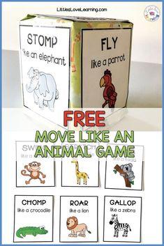 Dear Zoo Activities + Freebie | Littles Love Learning