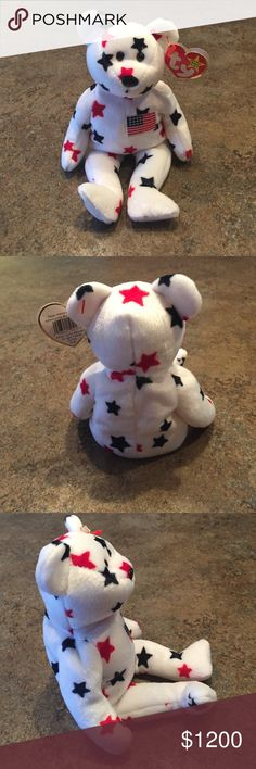 "Rare beanie baby Rare ""glory"" beanie baby with tag in-tact! Other"
