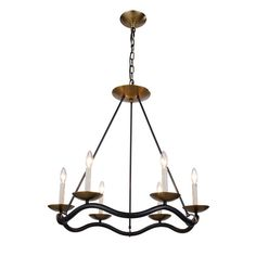 Found it at Wayfair - Perry 6 Light Candle Chandelier