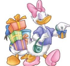 Donald and Daisy Duck Disney Duck, Cute Disney, Disney Mickey, Disney Art, Pato Donald Y Daisy, Donald Duck, Daisy Duck Party, Disney Magazine, Walt Disney Characters