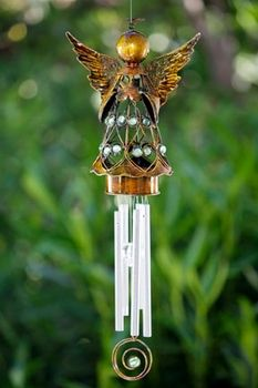 Angel Wind Chimes Angel Wings Windchimes Larger Image