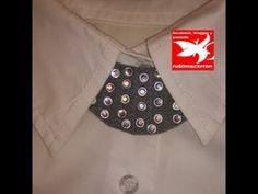 Mini collar babero con brillantes (+lista de reproducción)