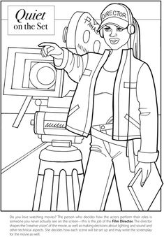 GIRL POWER: Free Printables of the coloring book 'Like a