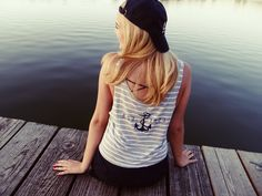 Delta Gamma Tee by TSL | Summer Ready | Bid Day Shirt | Anchor Tee | Recruitment