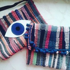 @Regrann from @theblueseashop -  We just received our Maslinda kourelou handmade bags and we looov...
