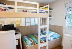 Beliche: 70 modelos perfeitos para quartos charmosos e funcionais Easy Drawings, Bunk Beds, Future House, Cool Stuff, Bedroom, Furniture, Home Decor, Kids Rooms, Bed Ideas