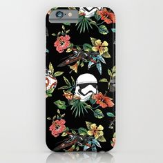 Floral accessories for Mother's Day gets a Star Wars mashup in this The Floral Awakens iPhone case